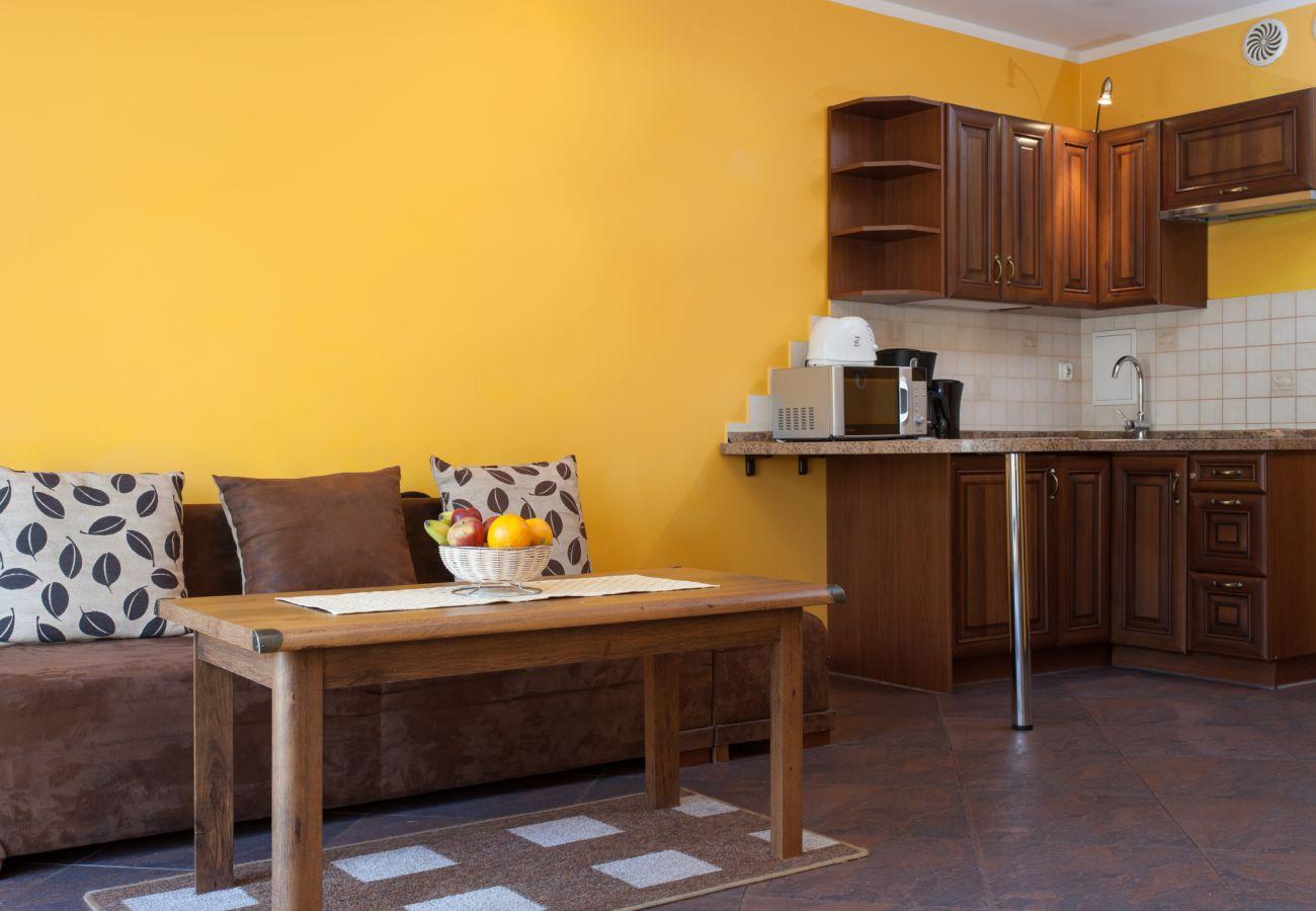 Zimmer, Tisch, Kochnische, Sofa, Miete