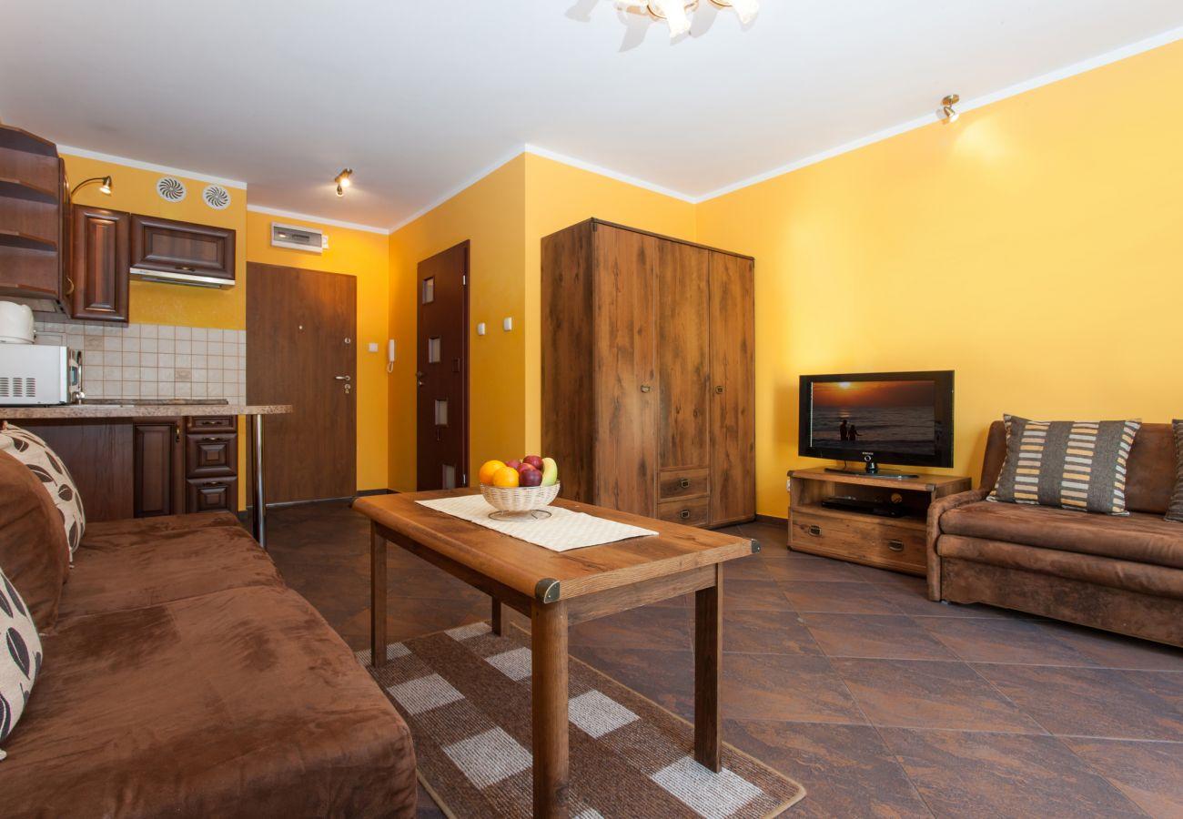 Zimmer, Sofa, Tisch, Kleiderschrank, TV, Miete