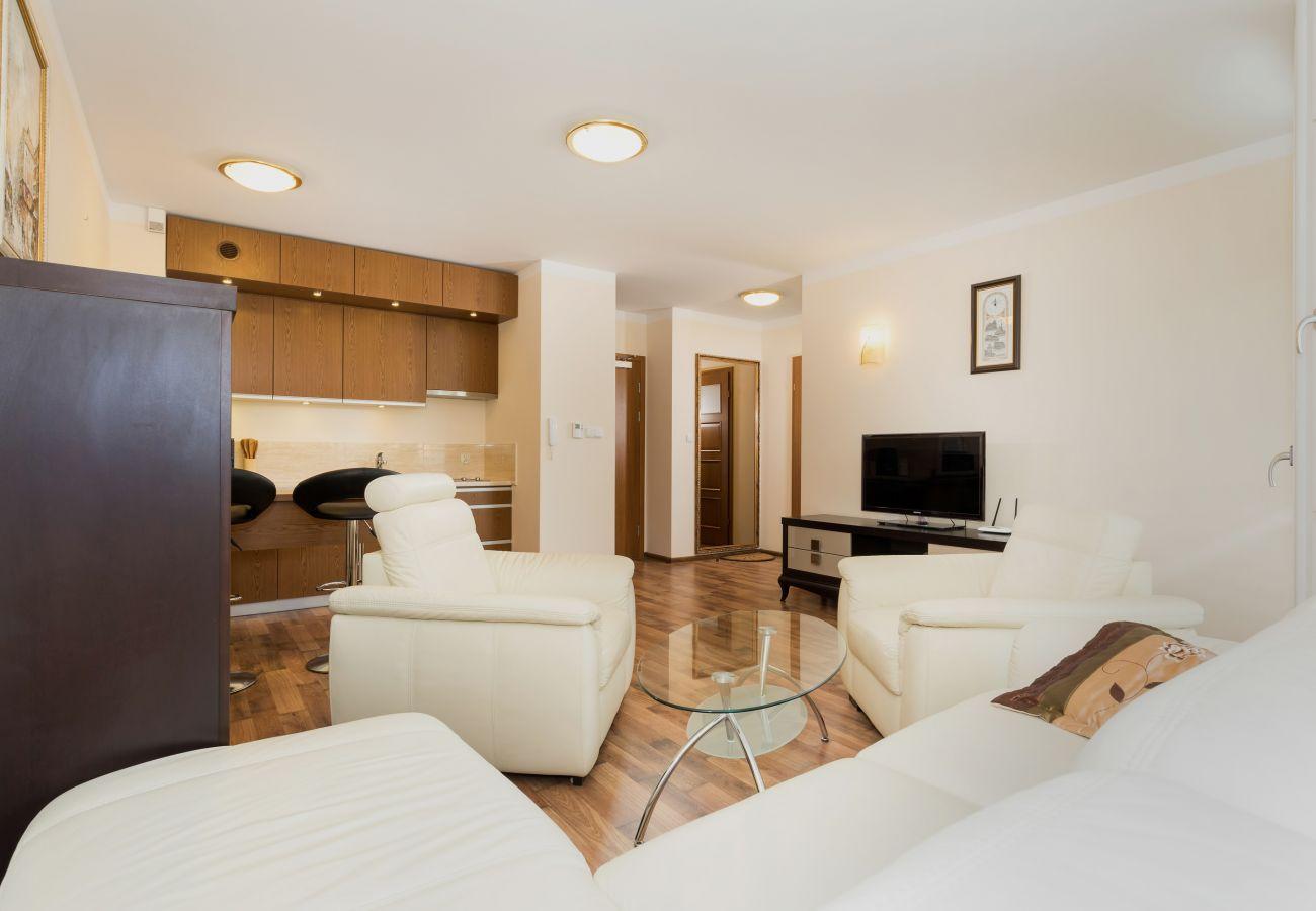 Wohnzimmer, Sessel, Sofa, Couchtisch, Fernseher, Küchenzeile, Essbereich, Miete