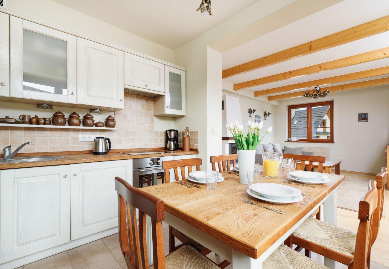Wohnung, Miete, Küche, Tisch, Stuhl, Osada, Gubałówka, Zakopane, Berge