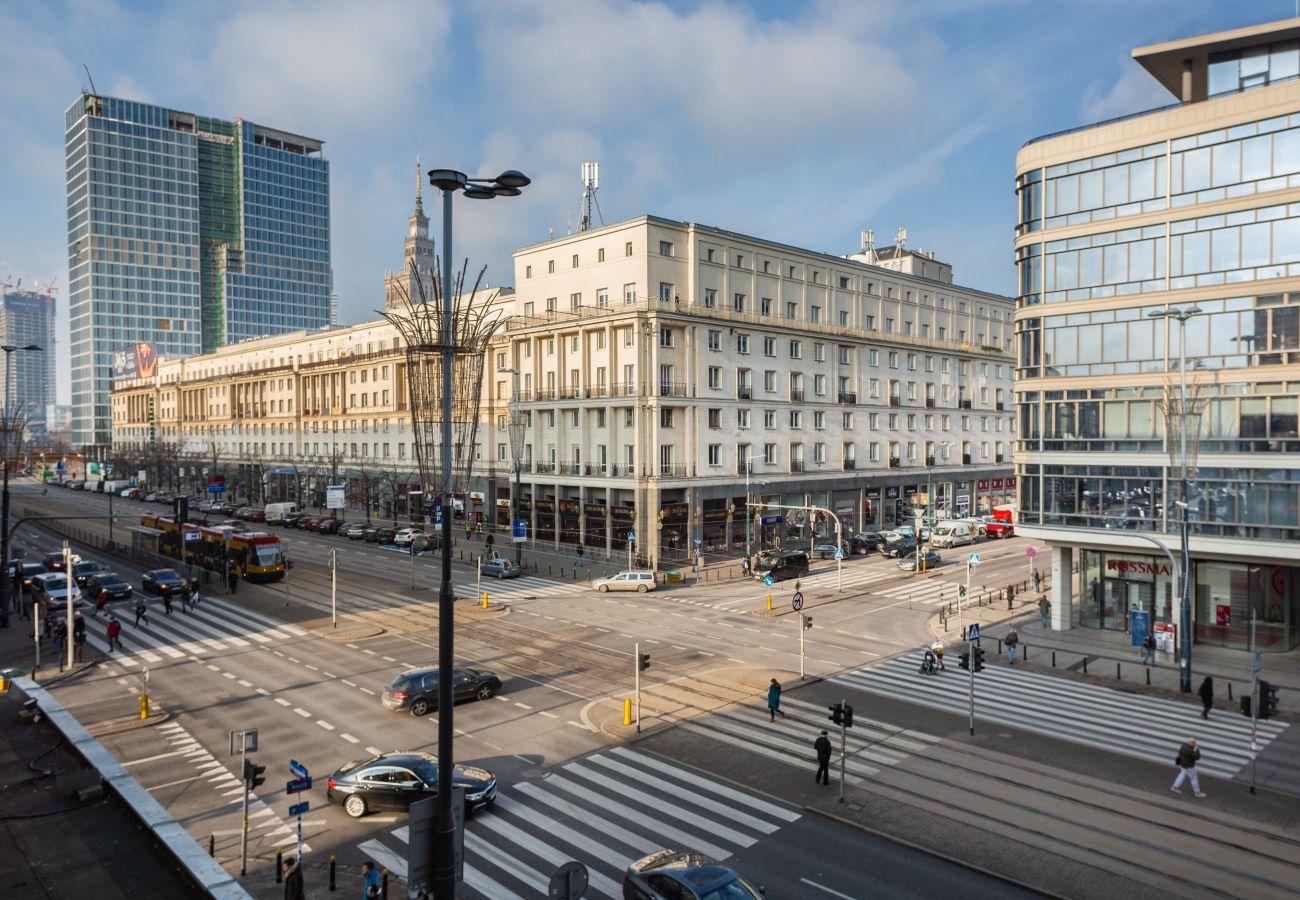 Ferienwohnung in Warszawa - Al. Jerozolimskie 11/19 m 8