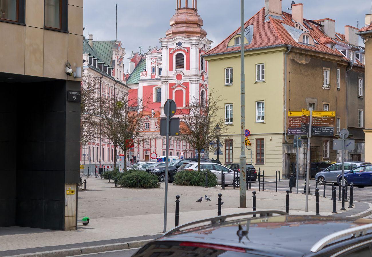 Ferienwohnung in Poznan - Garbary 59/3