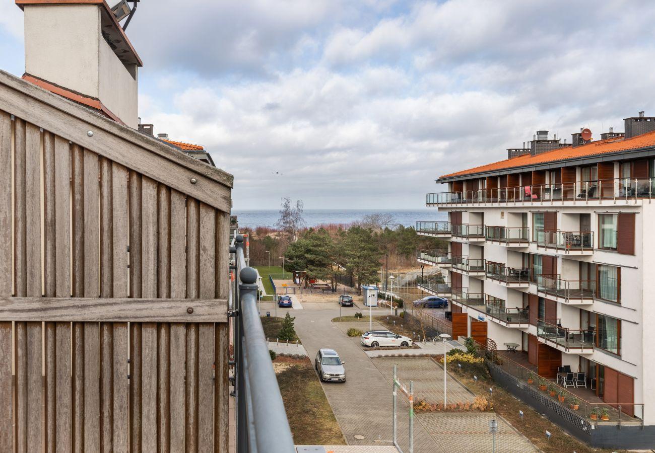 apartment, rent, accomodation, Baltic Park, seaview, balcony, Świnoujście, seaside