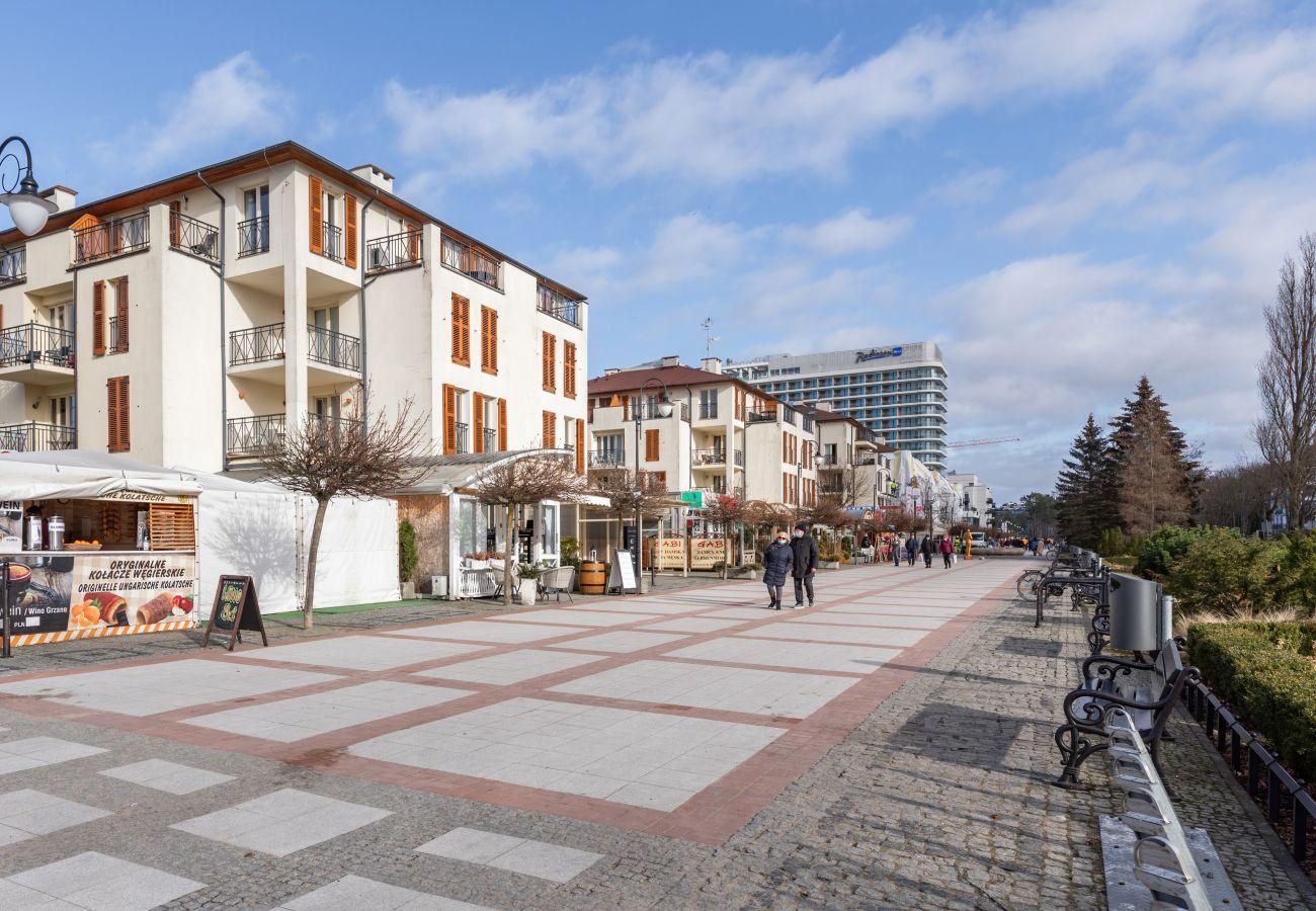 apartment, rent, Baltic Park, Świnoujście, promenade, vacation, holiday