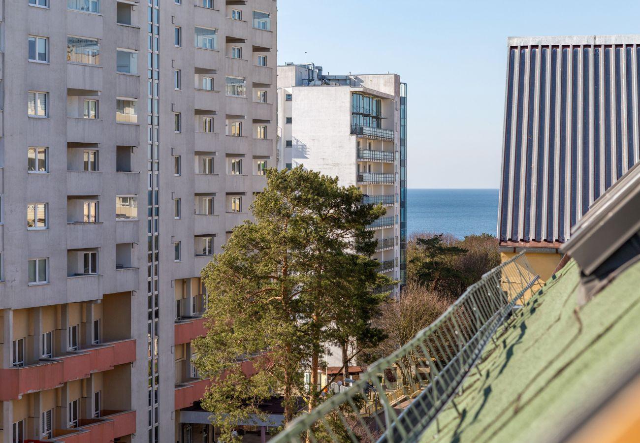 apartment, rent, living room, view, sea, Baltic, Międzyzdroje