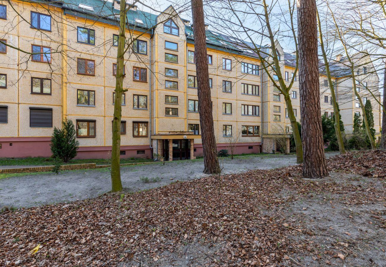 apartment, rent, outside, building, Turystyczna, Międzyzdroje, vacation