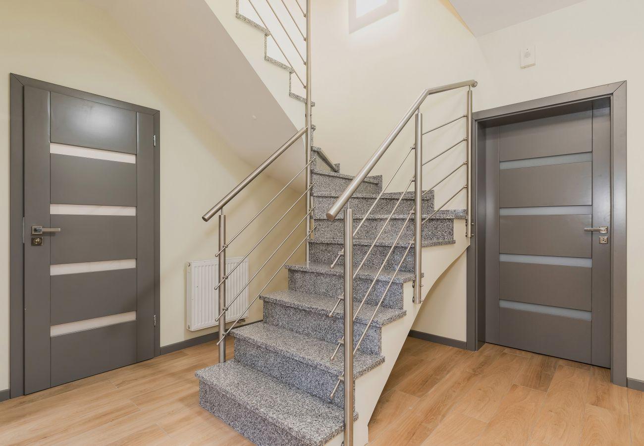 korytarz, schody, pokój, wynajem