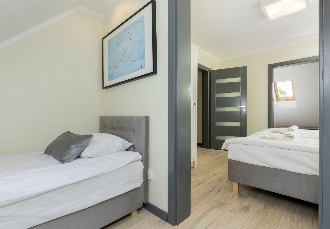 pokój, łóżko, pościel, obraz, wynajem
