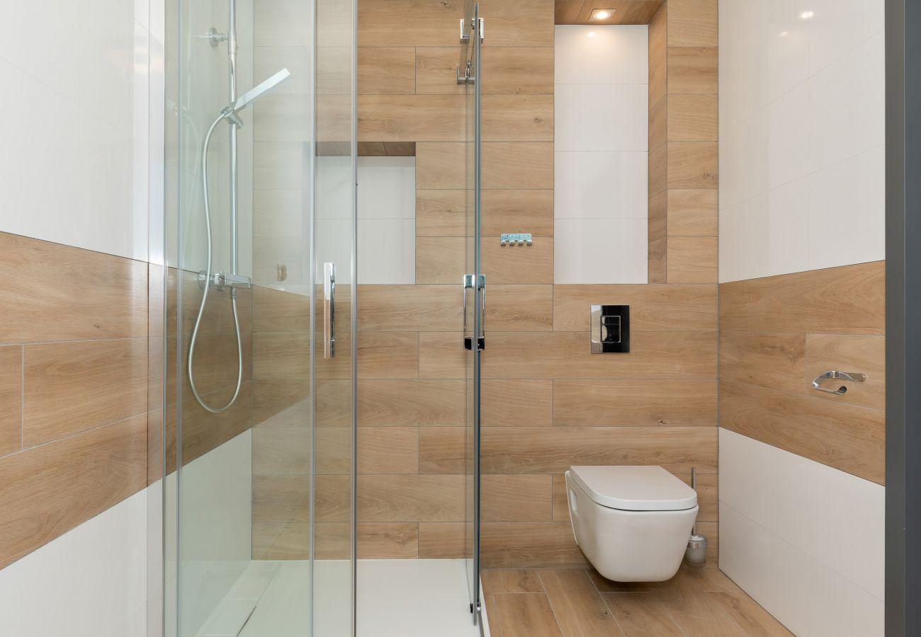 prysznic, WC, wynajem