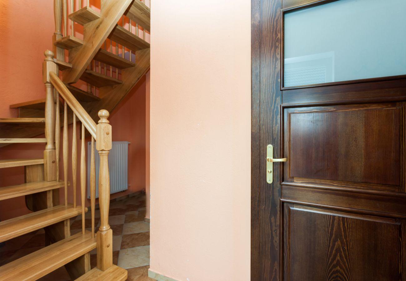 pokój, schody, Kurnik, wynajem, korytarz