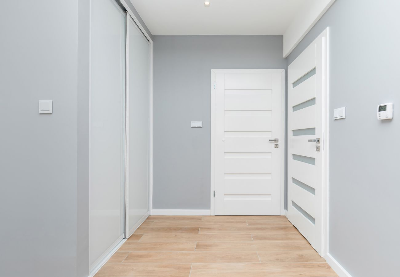 wnętrze, szafa, drzwi