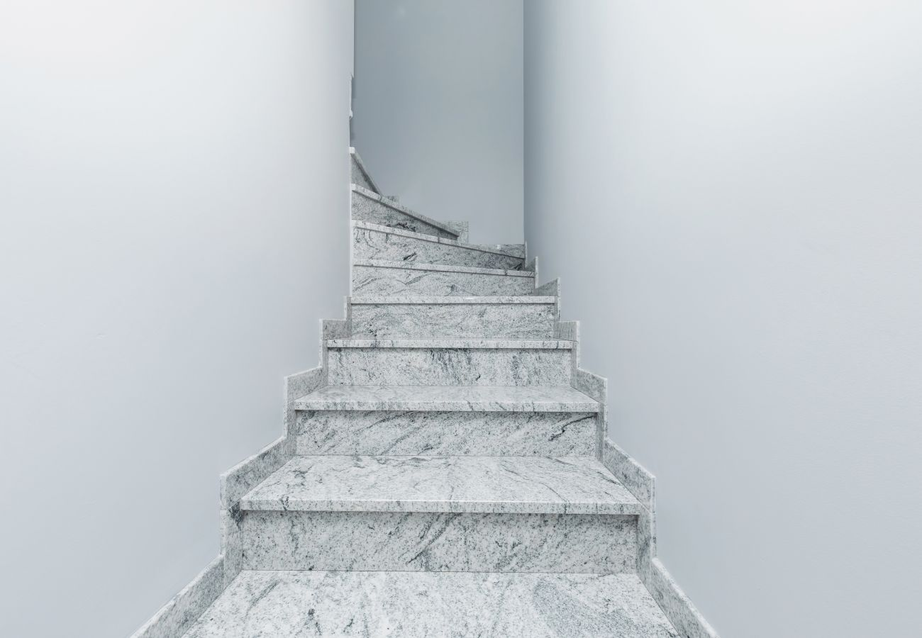 wnętrze, schody, wynajem