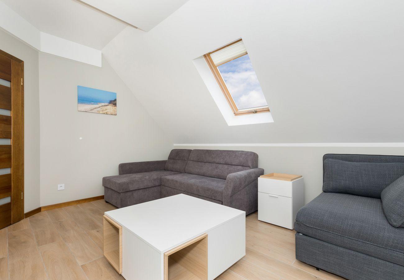 sofa, tv, stolik do kawy, okno, salon, wynajem