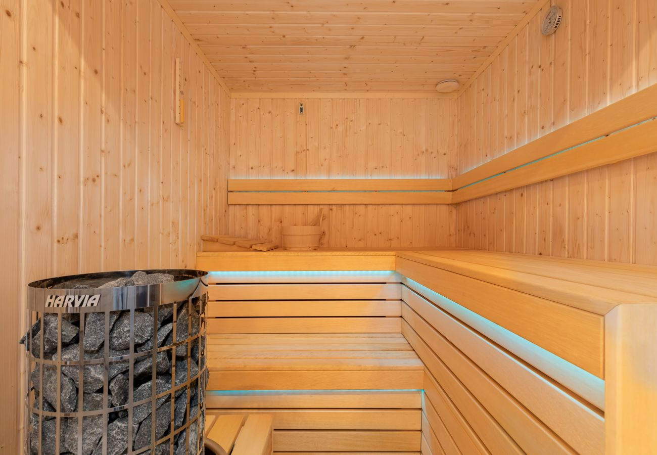 wnętrze, sauna, sauna drewniana, sauna wewnętrzna, sauna domowa, wynajem
