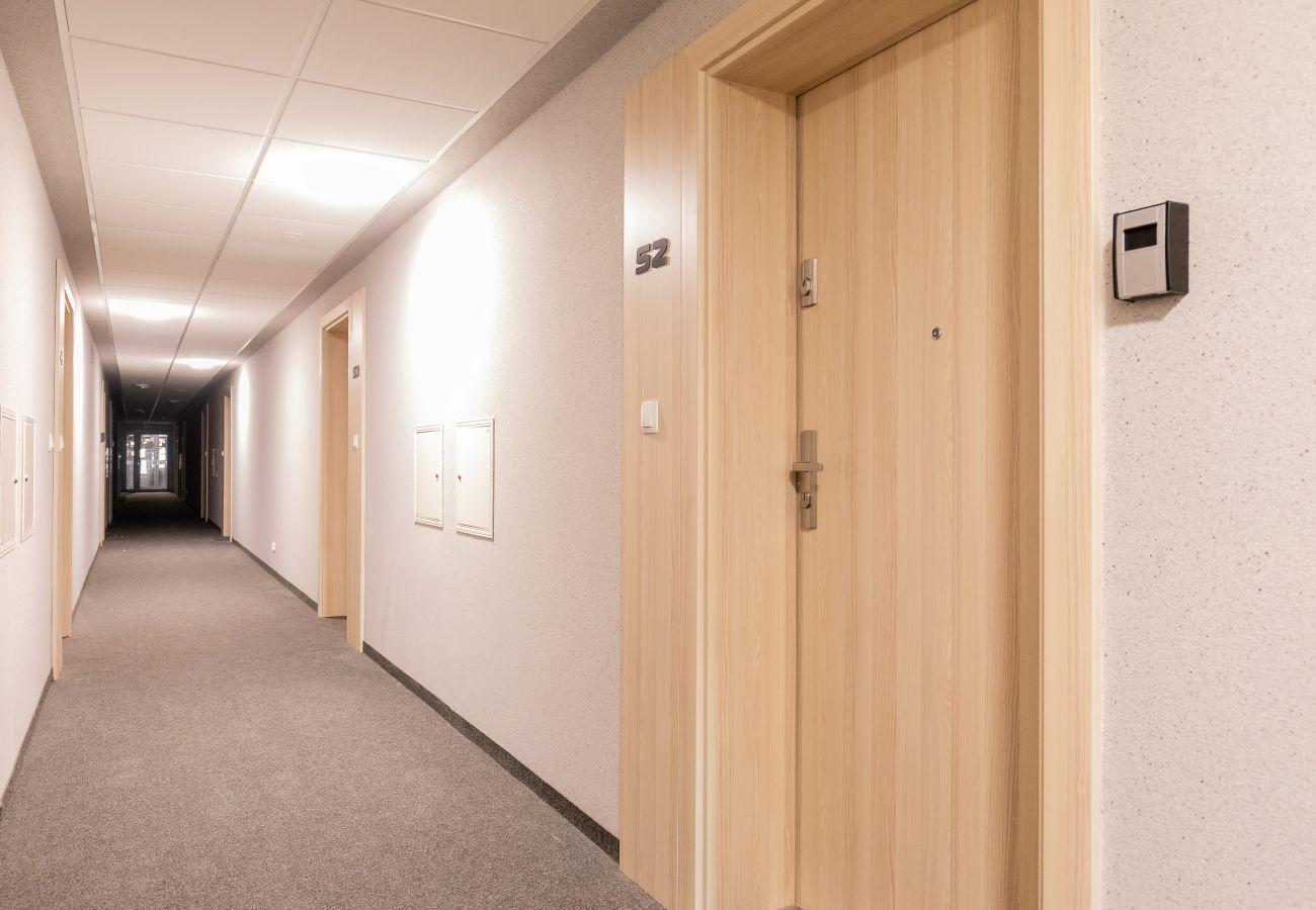 wnętrze, korytarz, mieszkanie, wejście do mieszkania, budynek mieszkalny, wynajem