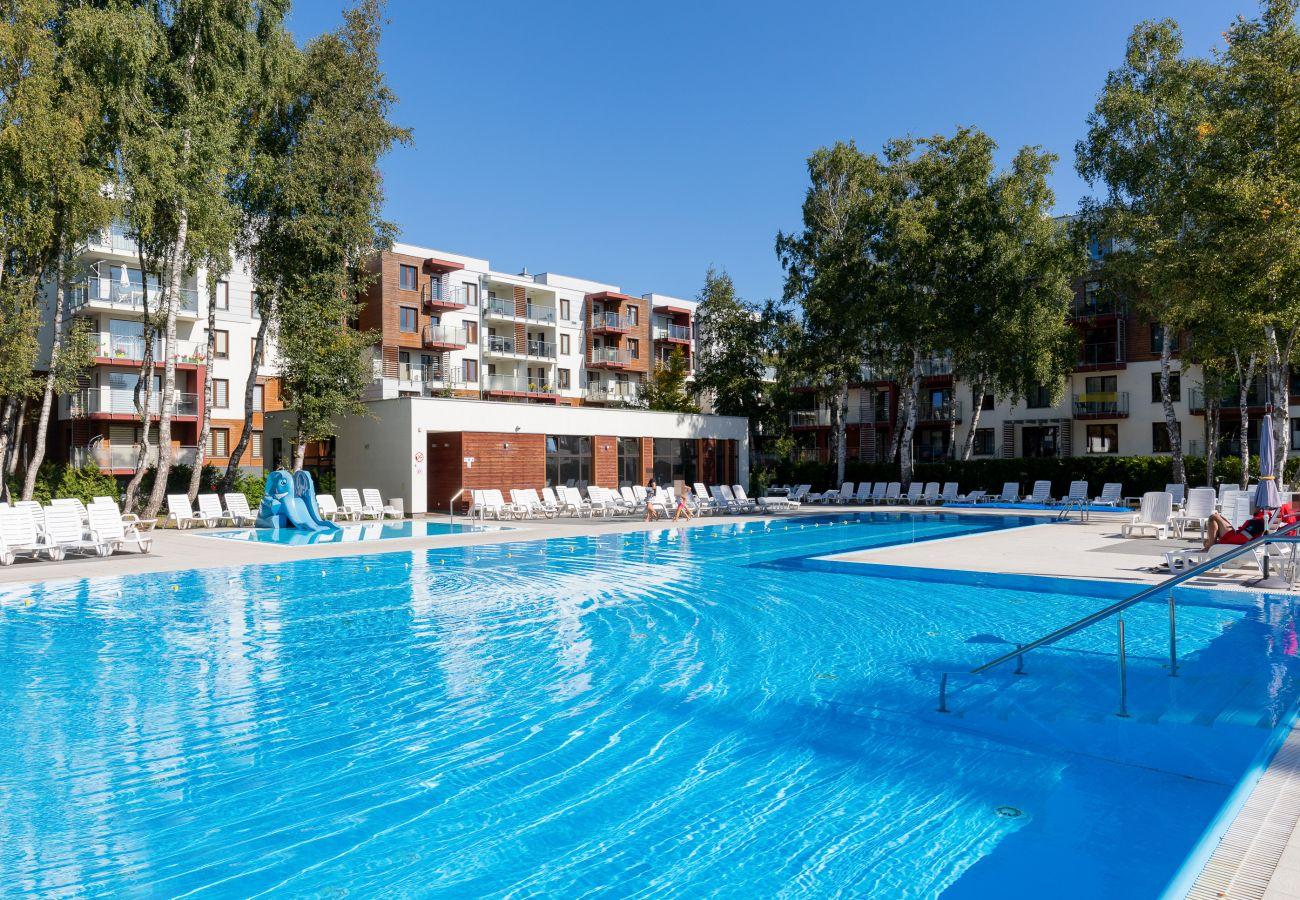 basen, basen w budynku mieszkalnym, na zewnątrz apartamentu, na zewnątrz budynku mieszkalnego, wynajem