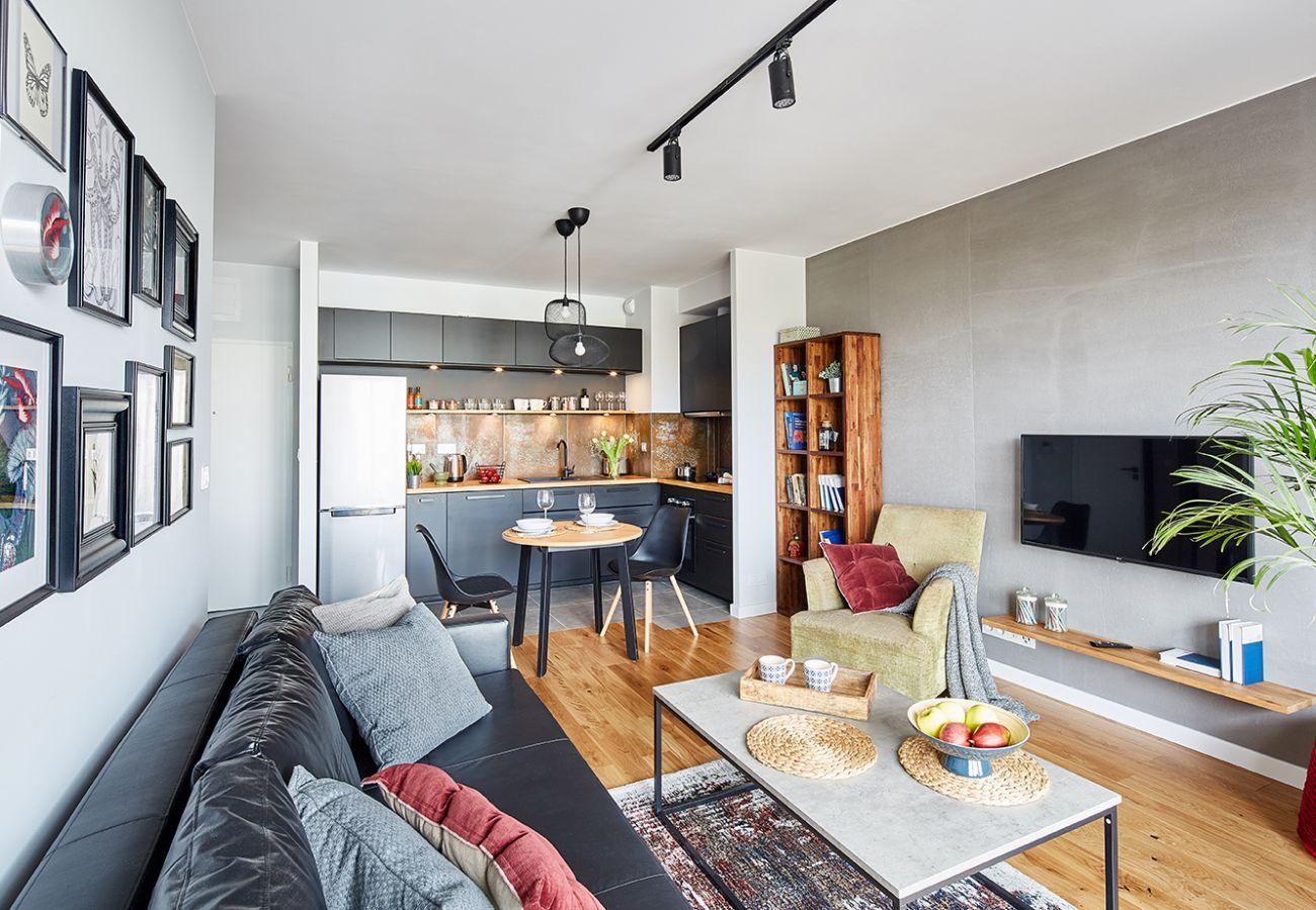 Apartament w Warszawa - Rydygiera 6/169