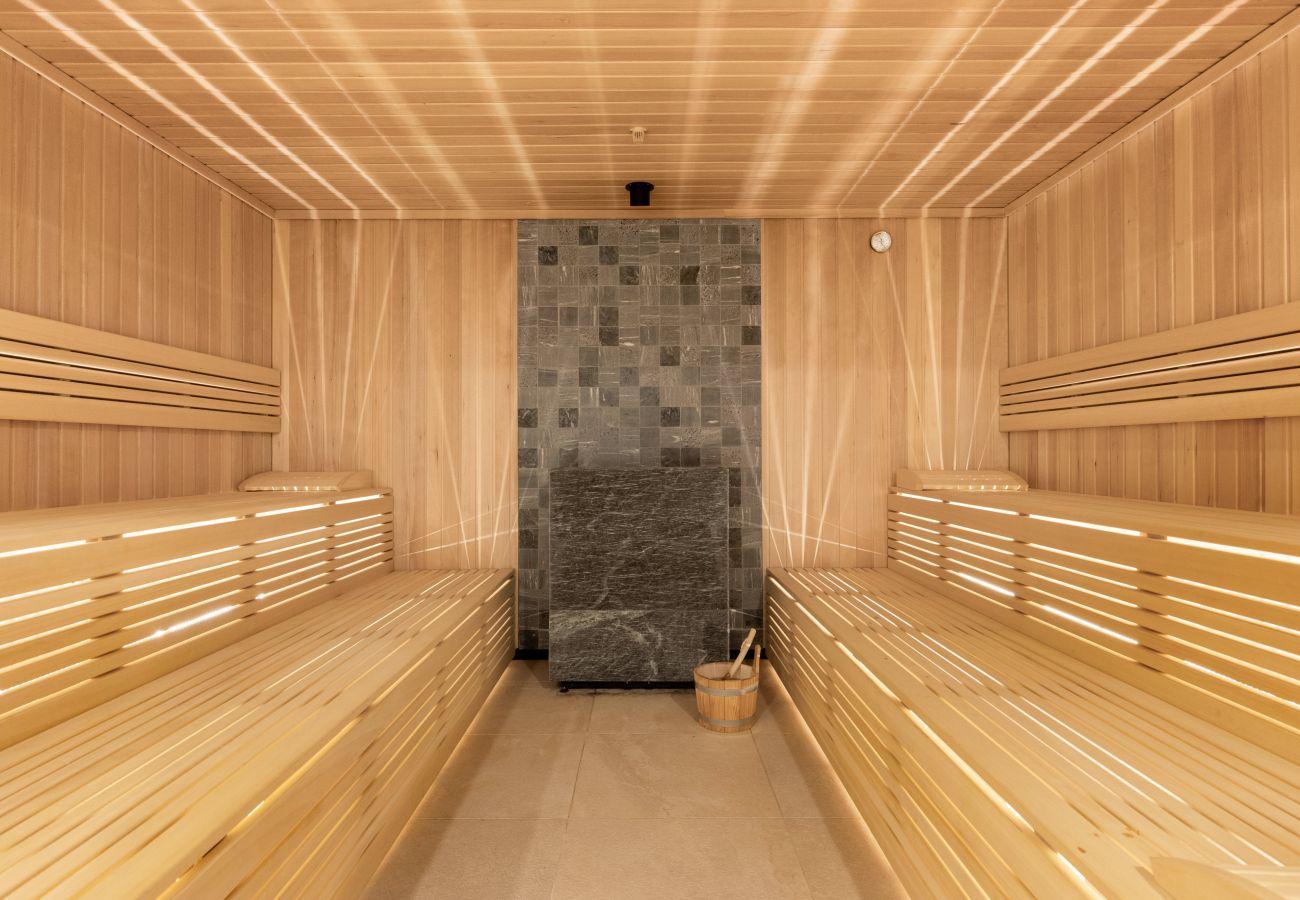 apartament, wynajem, zewnątrz, sauna, Nadmorskie Tarasy, Kołobrzeg, wakacje, wypoczynek