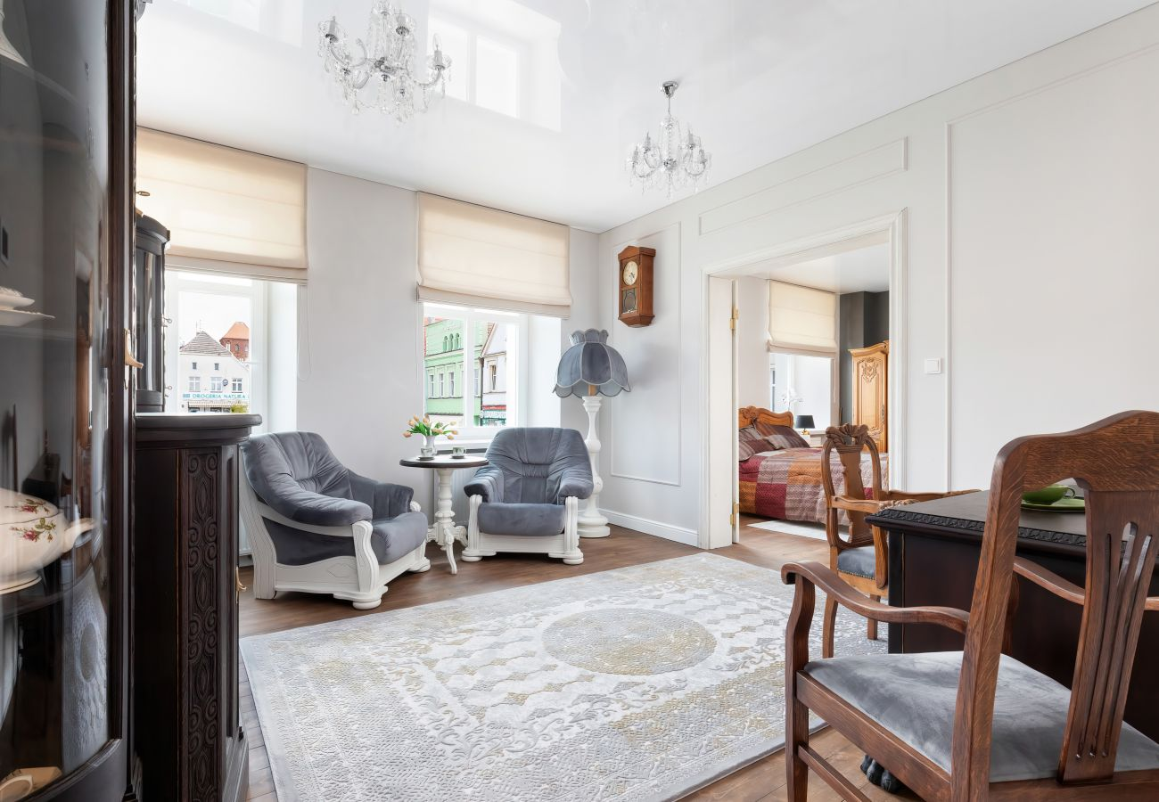 salon, fotel, biurko, krzesło, apartament, wnętrze, wynajem