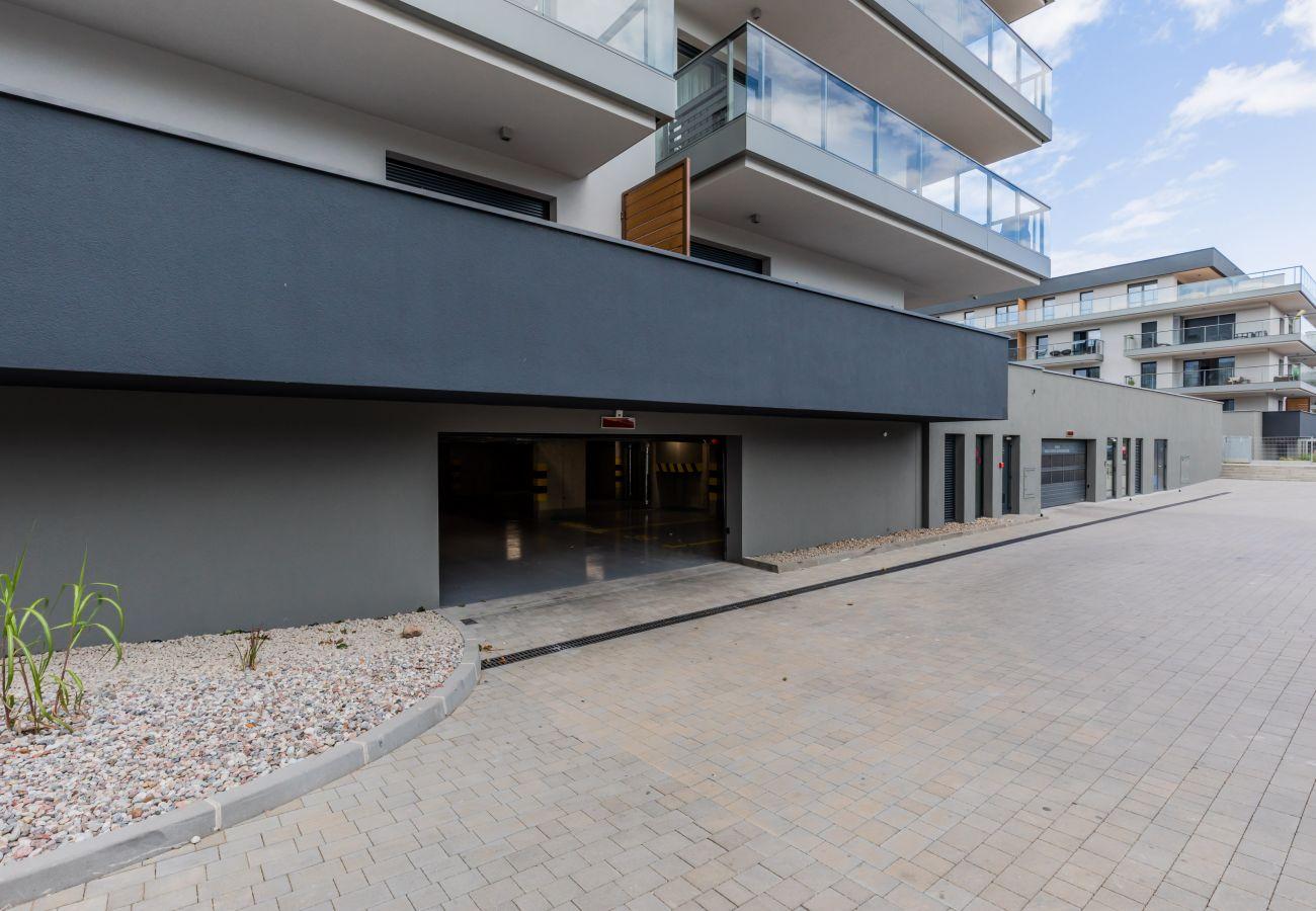 wnętrze, apartament, wynajem, garaż, parking, Gardenia Seaside