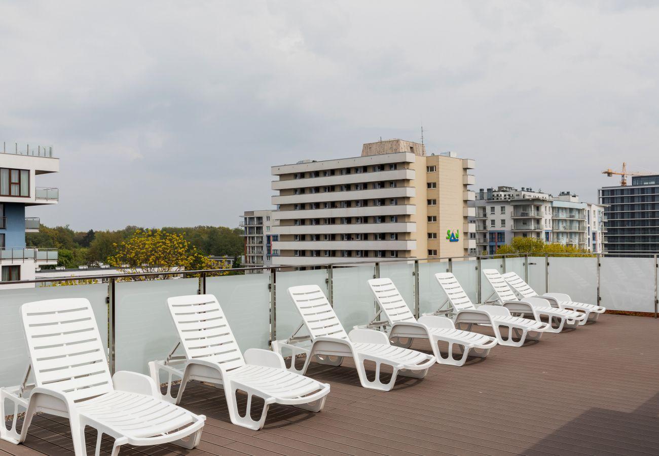 apartament, wynajem, udogodnienia, taras widokowy, Bliżej Morza, Kasprowicza 16, Kołobrzeg, wakacje