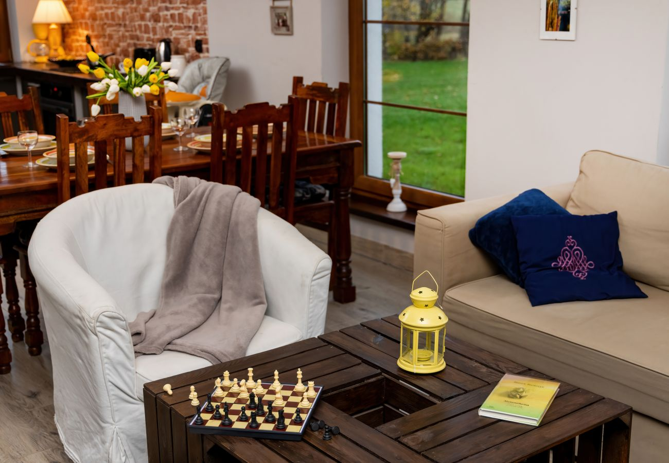 pokój, sofa, stolik, TV, obraz, wynajem, dom wakacyjny, salon