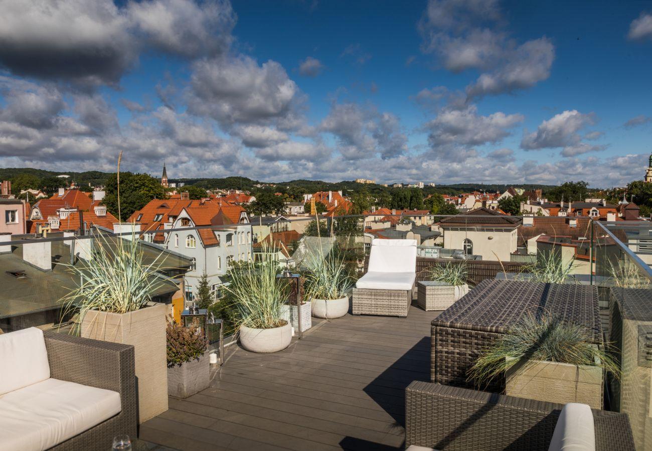 Apartament w Sopot - Sky and Sea