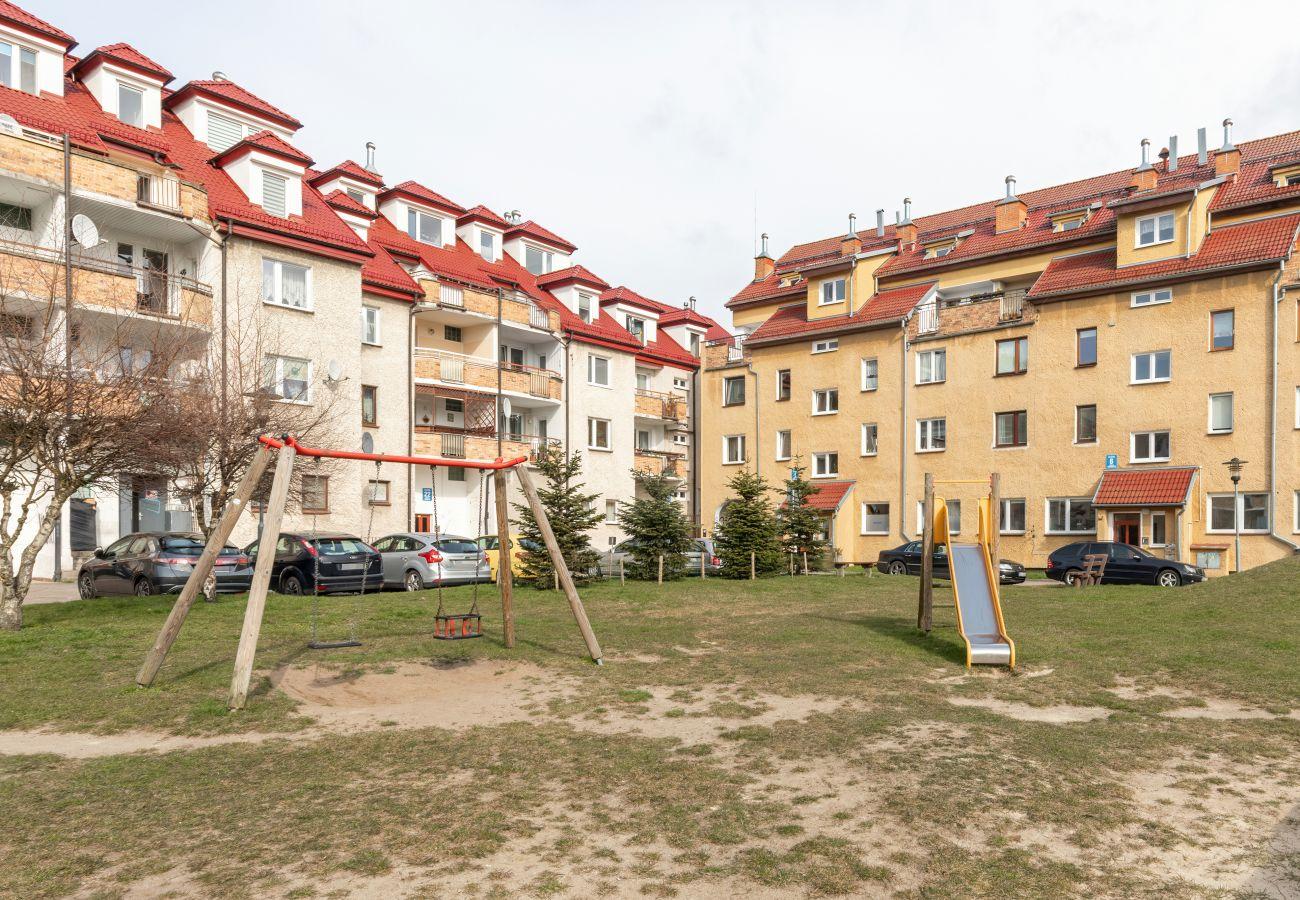 na zewnątrz, mieszkanie, budynek mieszkalny, Kołobrzeg, apartament, wynajem, wakacje