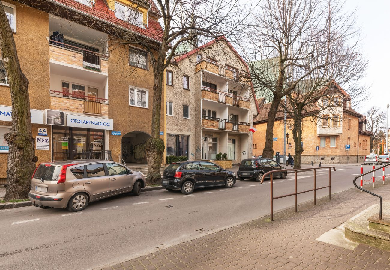 na zewnątrz, mieszkanie, budynek mieszkalny, Kołobrzeg, apartament, wynajem, Aquarius, wakacje