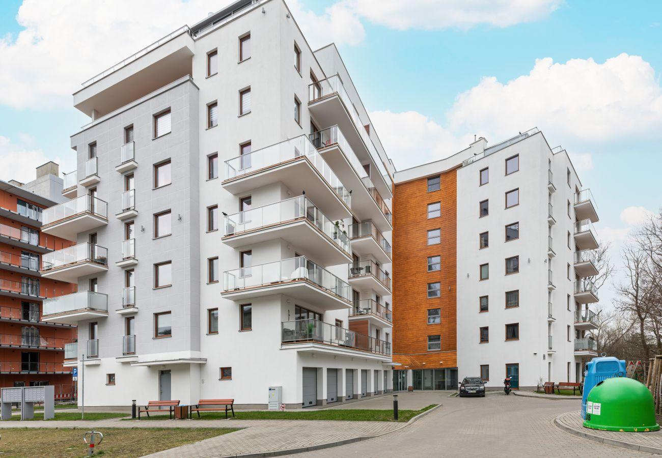 apartament, wynajem, na zewnątrz, budynek, Szpitalna 9, Wyspa Solna, Kołobrzeg, wakacje