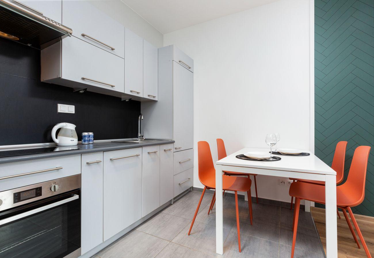 Apartament w Warszawa - Sokratesa 13D/133