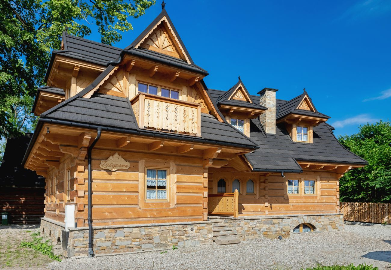 Dom w Zakopane - Dom Zasypane-A (poziom 0 i 1)