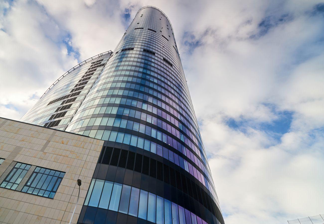 Apartament w Wroclaw - Apartament  37 Piętro Sky Tower
